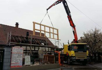 Rénovation maison à colombages Alsacienne 3