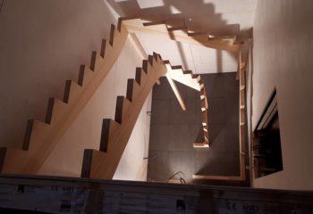 Escalier en bois 1