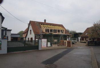 Rénovation maison à colombages Alsacienne 4