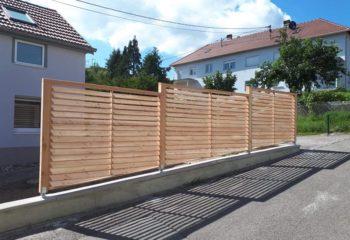 Construction palissade bois 2