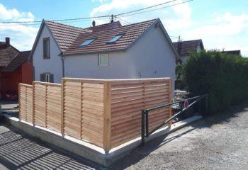 Construction palissade bois 3
