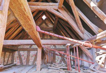 Charpente bois maison Alsacienne colombages