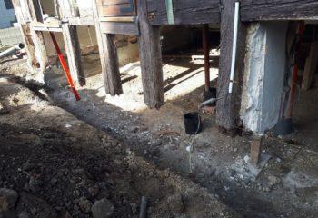 Rénovation maison à colombages Alsacienne 1