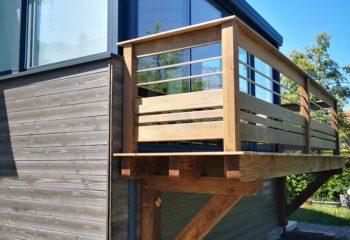Balcon en bois 1