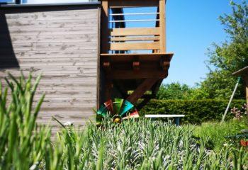 Balcon en bois 2