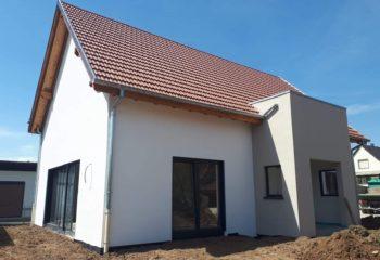 Extérieur maison ossature bois