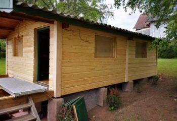 Renovation chalet en bois 1