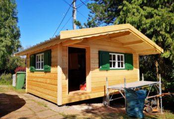 Rénovation chalet en bois 3