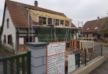 Rénovation maison à colombages Alsacienne 5