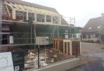 Rénovation maison à colombages Alsacienne 9