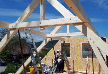 Construction charpente en bois 3